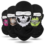 Winter face Hats Quick-drying Breathable Skull Cap Outdoor -Horror Mask - Tania's Online Closet, LLC