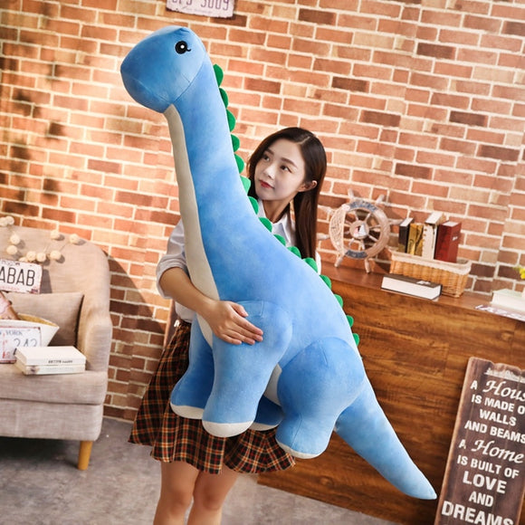 New Colorful stuffed Plush Dinosaur - Tania's Online Closet