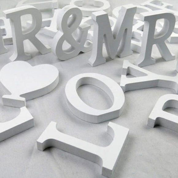 Creative Letters -Alphabet -Word- Bridal -Wedding-Graduation - Tania's Online Closet, LLC