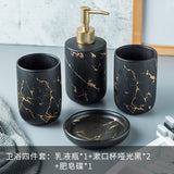 Ceramic marble Bathroom Accessory Set  Household Articles - Tania's Online Closet
