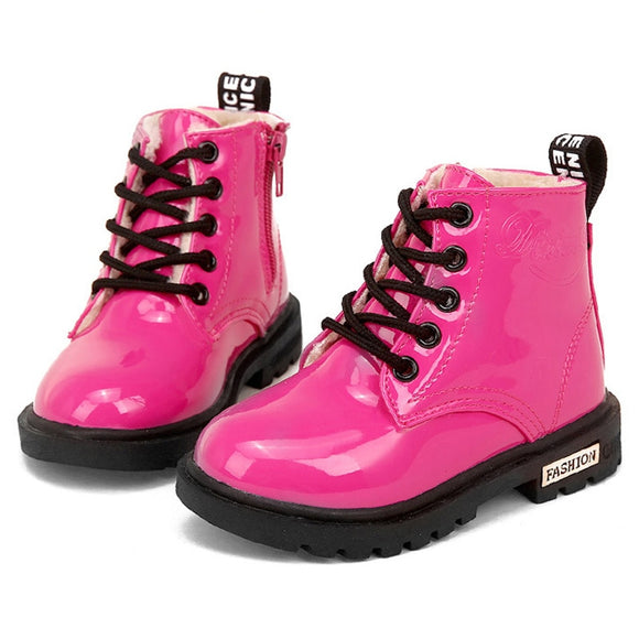 Children Martin Boots Waterproof - Tania's Online Closet