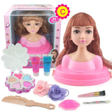 Dolls Styling Head Makeup Comb Hair Toy Doll Set - Tania's Online Closet, LLC