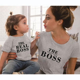 Matching Tees Mother And Child Printed Cotton T-Shirt - Tania's Online Closet