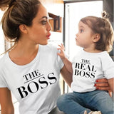 Matching Tees Mother And Child Printed Cotton T-Shirt - Tania's Online Closet, LLC