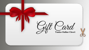 Gift Card - Tania's Online Closet