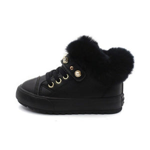 Short Boots sneaker Winter New Fur Shoes - Tania's Online Closet