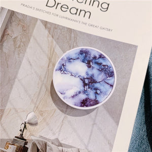 Gradient Marble Grain popsocket For Mobile Phone - Tania's Online Closet, LLC