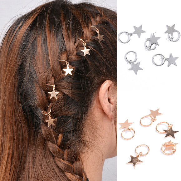 Hot sale 5pcs/bag Twist braid hair ornament for Women Hair Accessories