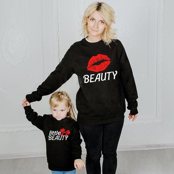 Mother Daughter Sweaters -Mommy and Me Sweatshirts