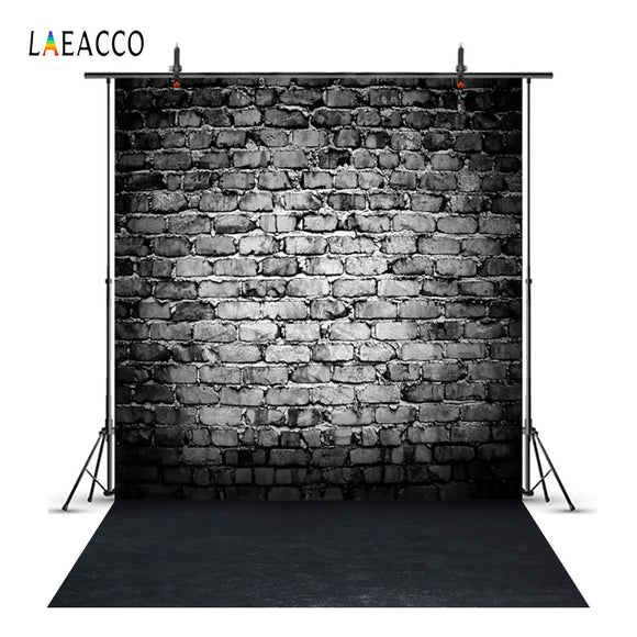 Dark Brick Wall Scene Photography Backgrounds For Photo Studio - Tania's Online Closet, LLC