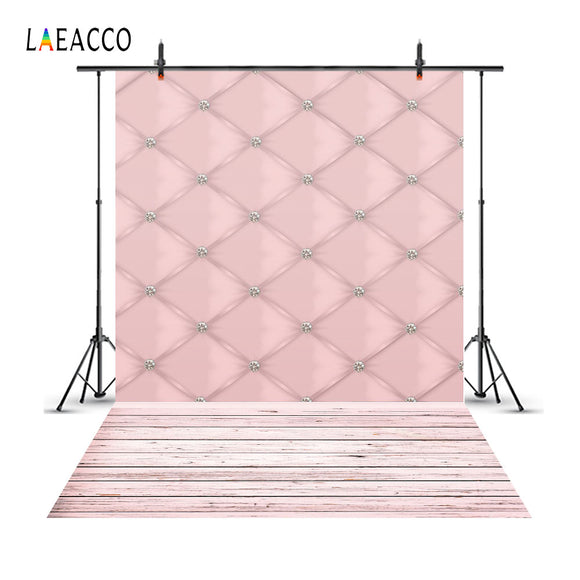 Laeacco Headboard Diamond Soft Decor Photography Backgrounds Custom Photographic Backdrops - Tania's Online Closet