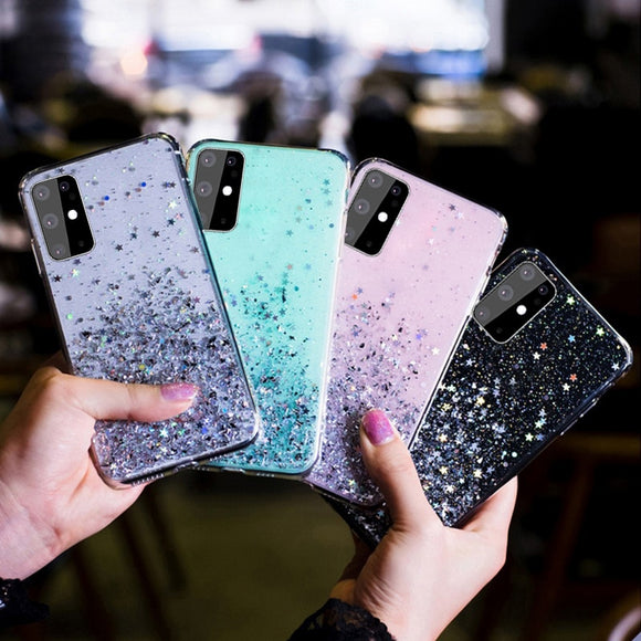 Luxury Glitter Star Case For Samsung Galaxy Cover - Tania's Online Closet