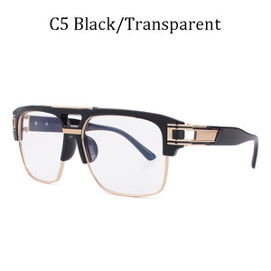 Classic grandmaster four Style Retro Gradient Sunglasses for men - Tania's Online Closet