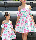 Mommy and Me Matching Above Knee Dress - Tania's Online Closet, LLC