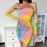 Mini Party Bodycon Long Sleeve mini dress - Tania's Online Closet, LLC
