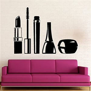 Nail Manicure Salon Bottle Wall Decal Home Decor - Tania's Online Closet, LLC