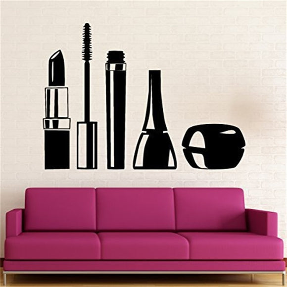 Nail Manicure Salon Bottle Wall Decal Home Decor - Tania's Online Closet