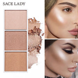 SACE LADY 4 Colors Highlighter Palette - Tania's Online Closet