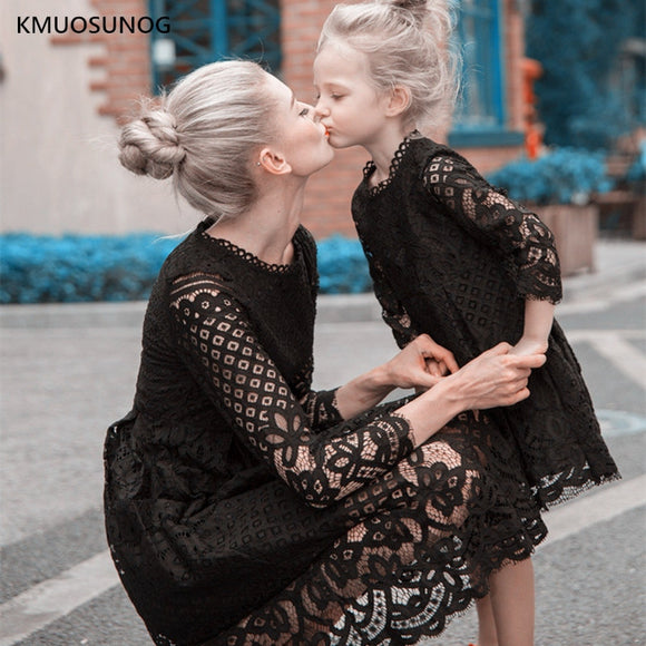 Mother And Daughter Dresses - Floral Lace - Tania's Online Closet, LLC