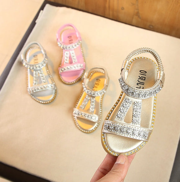 Summer Style Girls Sandals Cute Bow Girls Princess Shoes - Tania's Online Closet