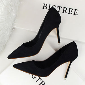 Women Pumps Fashion 9cm High Heels - Tania's Online Closet