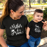 Son of Queen Mother of A Prince Mommy and Son Shirts - Tania's Online Closet