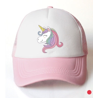 kids hat unicorn  3-8 years - Tania's Online Closet