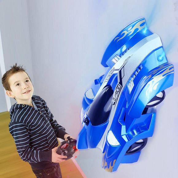 Wall Racing Car Climb Ceiling and Wall Remote Control Anti Gravity Toy Car - Tania's Online Closet, LLC
