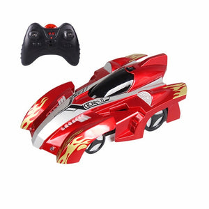 Wall Racing Car Climb Ceiling and Wall Remote Control Anti Gravity Toy Car