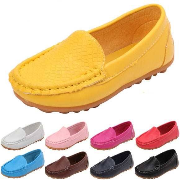 Many Colors Children Shoes Soft Comfortable Loafers - Tania's Online Closet