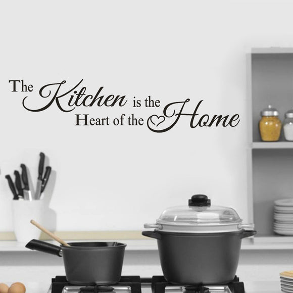 Kitchen Home Decor Wall Decal - Tania's Online Closet, LLC