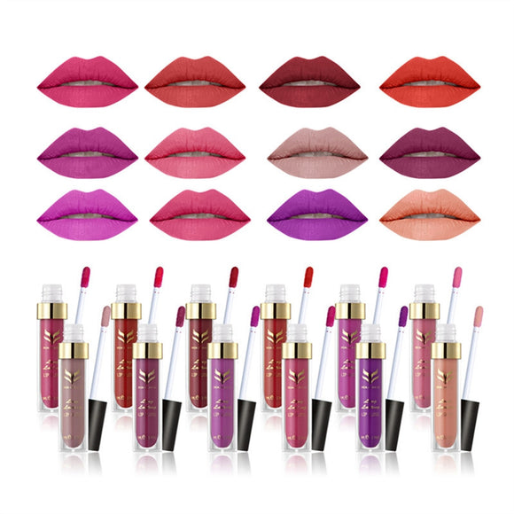 Matte Liquid Lipstick/ Lip Gloss Waterproof Long Lasting - Tania's Online Closet