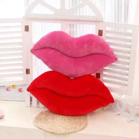 Sexy Lips Pillow / Cushions Novelty Plush Valentines Day Gift - Tania's Online Closet