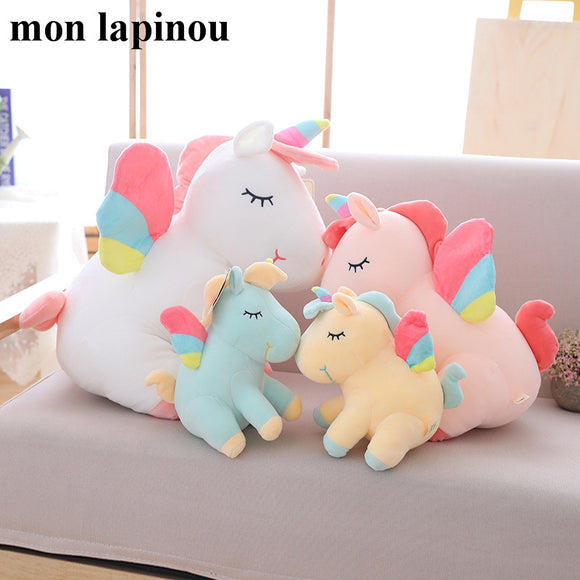 unicorn plush with rainbow wings Stuffy - Tania's Online Closet