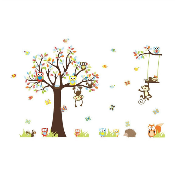 Wall Decal Cute Animals Nursery Wall Home Decor - Tania's Online Closet