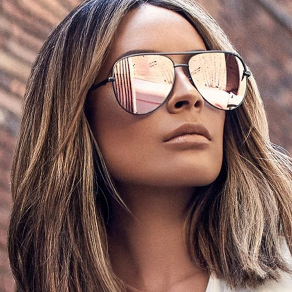 Oval Sunglasses Women/ Men - Tania's Online Closet