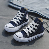 2019 Spring Fashion High Toe Canvas Toddler Sneakers - Tania's Online Closet