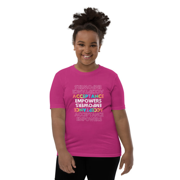 Youth Inspirational  Short Sleeve T-Shirt - Tania's Online Closet