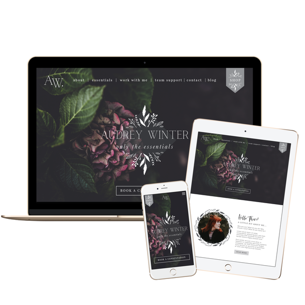 AUDREY WINTER - doTERRA Website Template