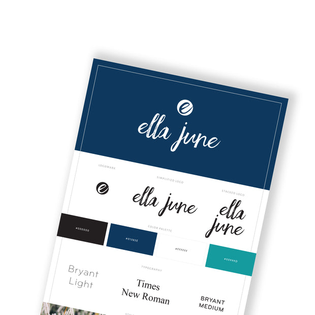 ELLA JUNE- Business Website Template
