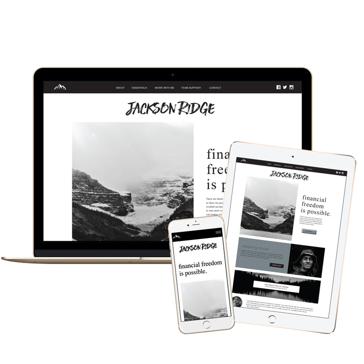JACKSON RIDGE - DoTERRA Website Template