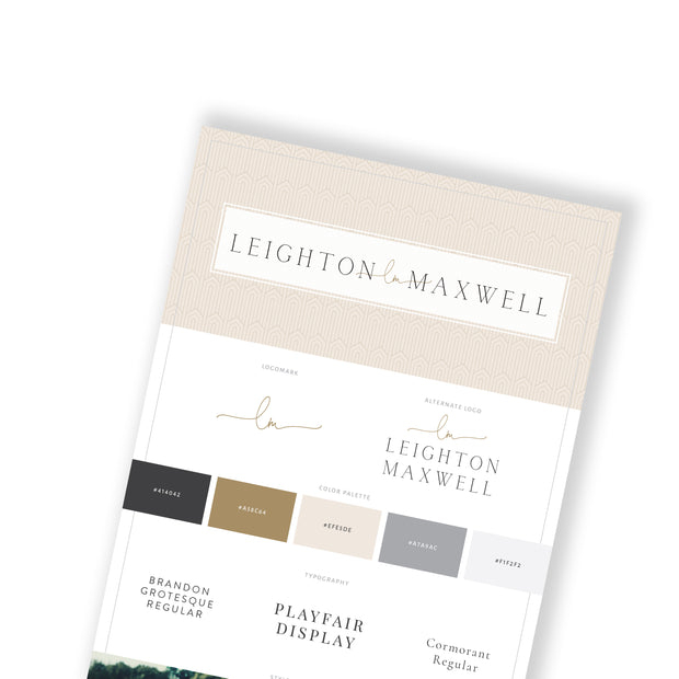 LEIGHTON MAXWELL - doTERRA Website Template