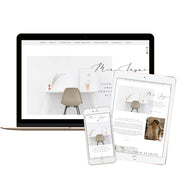 MIA JAYNE- Branded Website Template - Available on Wavoto