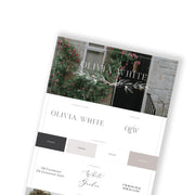OLIVIA WHITE - doTERRA Website Template