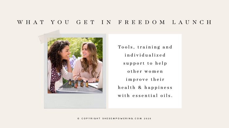 She's Empowering Freedom Launch (Pmt Plan)