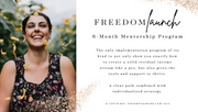 She's Empowering Freedom Launch (Full Pmt)