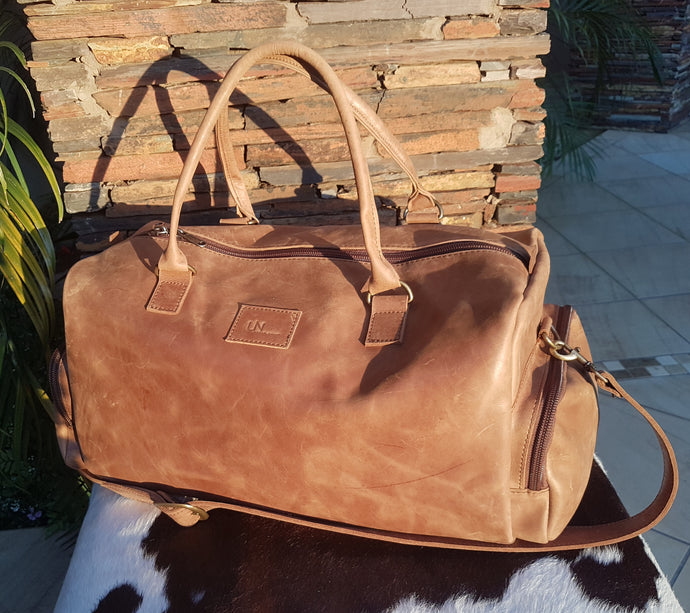 Extra Large Travelbag - Matt Toffee