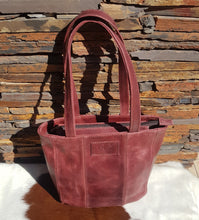 Load image into Gallery viewer, Casablanca Handbag - Matt Cherry Red (Limited Edition)
