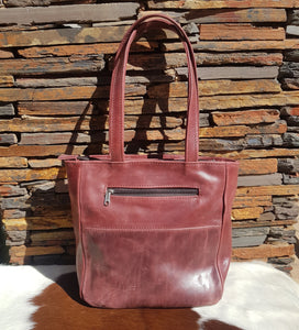 Casablanca Handbag - Matt Cherry Red (Limited Edition)