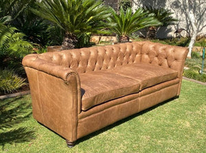 Modern Chesterfield 3 Seater